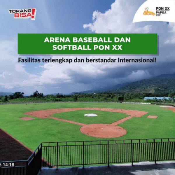 venue baseball pon xx papua